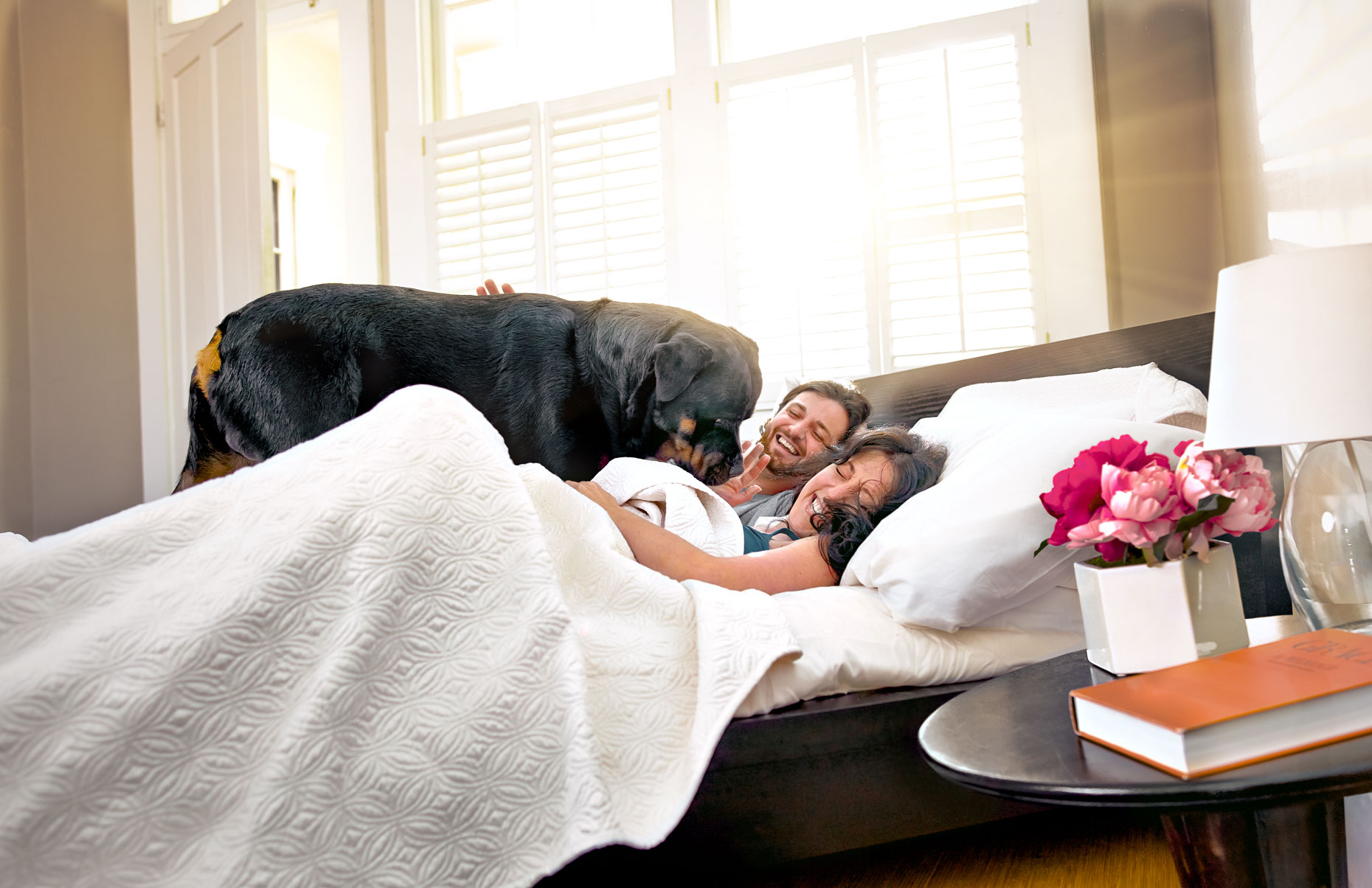 03 2016PP 81104 Young couple in bed with dog 2013 RB - Version 2A
